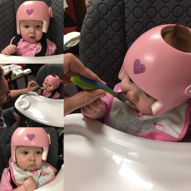Madison's first taste of food