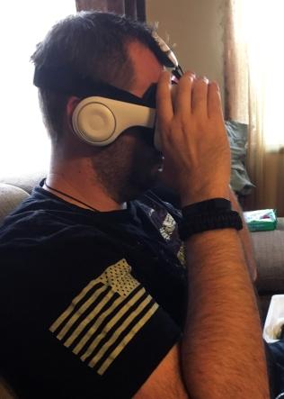 Phone 3D goggles