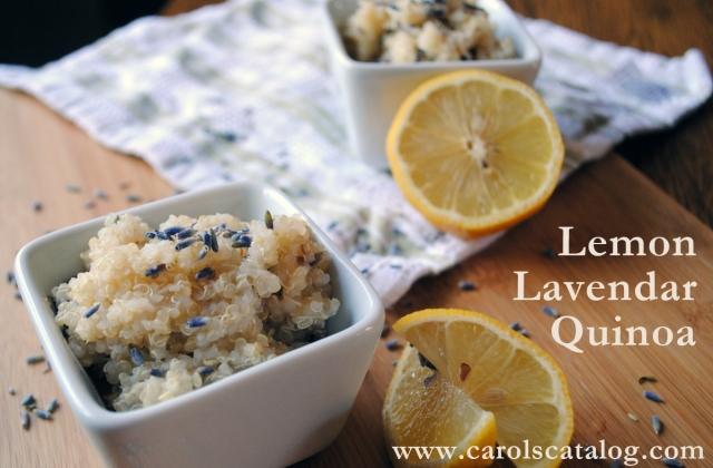 Lemon Lavendar Quinoa