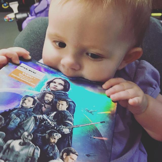 Maddie Rogue One baby