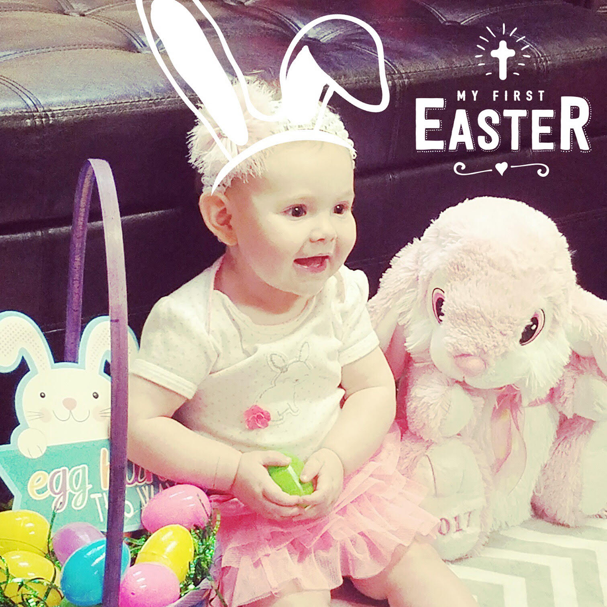 Baby Easter photo