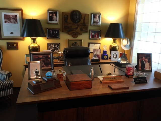 W W Clements office at Dr. Pepper museum