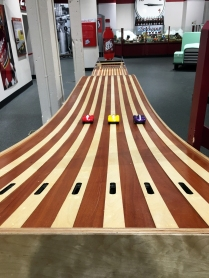 Car race at Dr. Pepper Museum